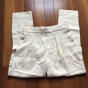 Chloe vanilla pants size 34 FR US 2 Xs